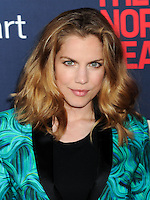 "NEW YORK CITY, NY, USA - MAY 12: Anna Chlumsky at the New York Screening Of HBO's ""The Normal Heart"" held at the Ziegfeld Theater on May 12, 2014 in New York City, New York, United States. (Photo by Celebrity Monitor)"