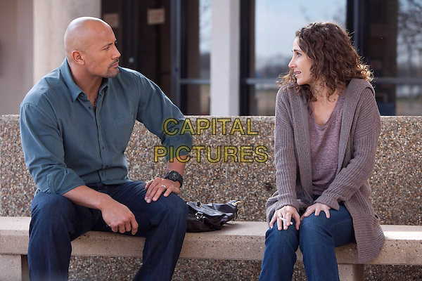 Dwayne &quot;The Rock&quot; Johnson, Melina Kanakaredes<br /> in Snitch (2013) <br /> *Filmstill - Editorial Use Only*<br /> CAP/NFS<br /> Image supplied by Capital Pictures