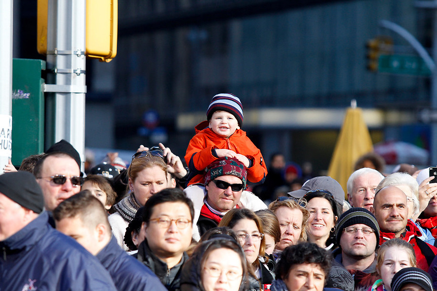 Scenes from the 85th Annual Macy's Thanksgiving Day Parade, Manhattan, NY on Thursday, November 24, 2011.