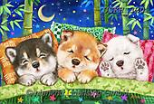 Kayomi, CUTE ANIMALS, LUSTIGE TIERE, ANIMALITOS DIVERTIDOS, paintings+++++,USKH320,#ac#, EVERYDAY,puppies,puppy