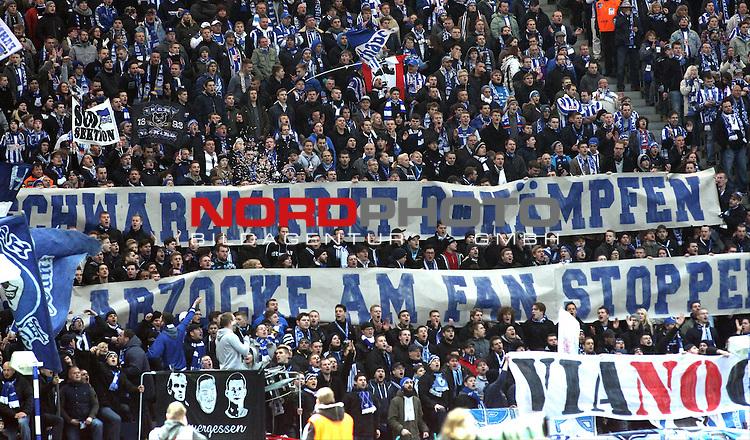 30.11.2013, OLympiastadion, Berlin, GER, 1.FBL, Hertha BSC vs FC Augsburg, im Bild Hertha-Fankurve<br /> <br />               <br /> Foto &copy; nph /  Schulz