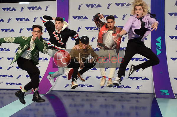 Prettymuch<br /> at the 2017 MTV Video Music Awards, The Forum, Inglewood, CA 08-27-17<br /> David Edwards/DailyCeleb.com 818-249-4998