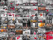 Assaf, LANDSCAPES, LANDSCHAFTEN, PAISAJES, collages, paintings,+City, Collage, Photography, Splash of Colour, Spot Color, Spot Colour,City, Collage, Photography, Splash of Colour, Spot Colo+r, Spot Colour+++,GBAF20140915A,#l#, EVERYDAY ,puzzle,puzzles ,collage,collages