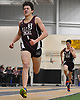 Colin O'Sullivan of North Shore wins the boys' 1,600 meter race during a Nassau County winter track & field meet at St. Anthony's High School in South Huntington on Tuesday, Dec. 19, 2017. He posted a time of 4:39.80.