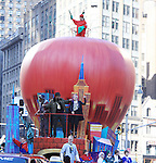 at the 86th Annual Macy's Thanksgiving Day Parade on November 22, 2012 in New York City, New York. (Photo by Sue Coflin/Max Photos)