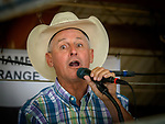 The auctioneer, 54th annual Junior Livestock Auction during Sunday at the 80th Amador County Fair, Plymouth, Calif.<br /> .<br /> .<br /> .<br /> .<br /> #AmadorCountyFair, #1SmallCountyFair, #PlymouthCalifornia, #TourAmador, #VisitAmador