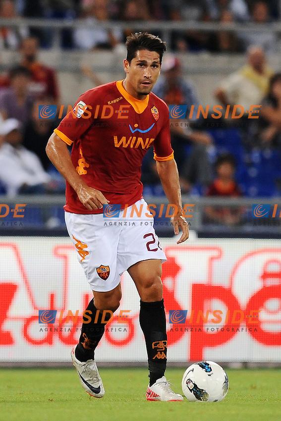 "Marco BORRIELLO Roma.Roma 22/9/2011 Stadio ""Olimpico"".Football Calcio Serie A 2011/2012.Roma Vs Siena.Foto Insidefoto Antonietta Baldassarre"