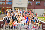 ..The 2011 Roses were guest of Honour at the Tralee Town Council Building, Princess Quay, Tra;lee on Monday as the Mayor Grace O'Donnell presented them with certificate. ..