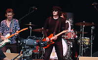 The Raconteurs performing live on stage during the All Points East Festival at Victoria Park in London. May 25th 2019<br /> <br /> Photo by Keith Mayhew