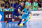 League LNFS 2017/2018.<br /> PlayOff Final-Game 4.<br /> FC Barcelona Lassa vs Movistar Inter FS: 3-3.<br /> FCB por penaltys.<br /> Dyego vs Ricardinho.