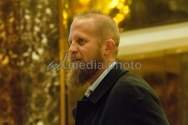 Trump campaign digital director Brad Parscale is seen in the in the lobby of Trump Tower in New York, NY, USA on December 3, 2016. Photo Credit: Albin Lohr-Jones/CNP/AdMedia