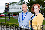 Joe Brennan and Niamh Nic Gearailt Youthreach Tralee at the Teachers Union of Ireland conference in the INEC on Wednesday