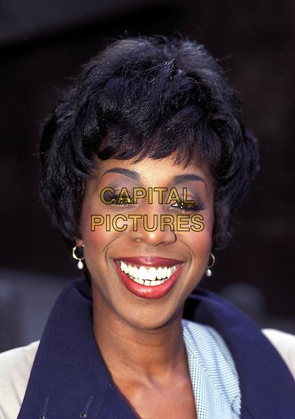 OLETA ADAMS.smiling.Ref: 007.www.capitalpictures.com.sales@capitalpictures.com.© Capital Pictures