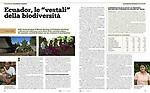 """Ecuador, le """"vestali"""" della biodiversità"""