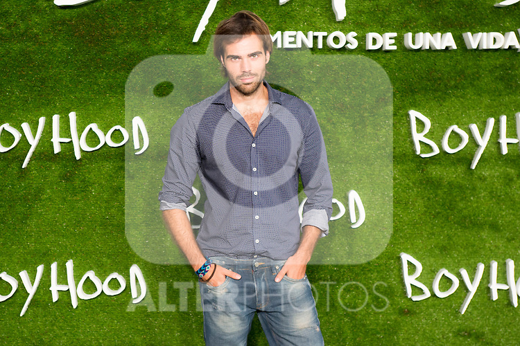 """Angel Caballero attend the photocall of the Premiere of the movie """"Boyhood"""" at the Cineteca in Madrid, Spain. September 09, 2014. (ALTERPHOTOS/Carlos Dafonte)"""