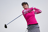 Brittany Altomare (USA) watches her tee shot on 2 during round 4 of the KPMG Women's PGA Championship, Hazeltine National, Chaska, Minnesota, USA. 6/23/2019.<br /> Picture: Golffile | Ken Murray<br /> <br /> <br /> All photo usage must carry mandatory copyright credit (© Golffile | Ken Murray)