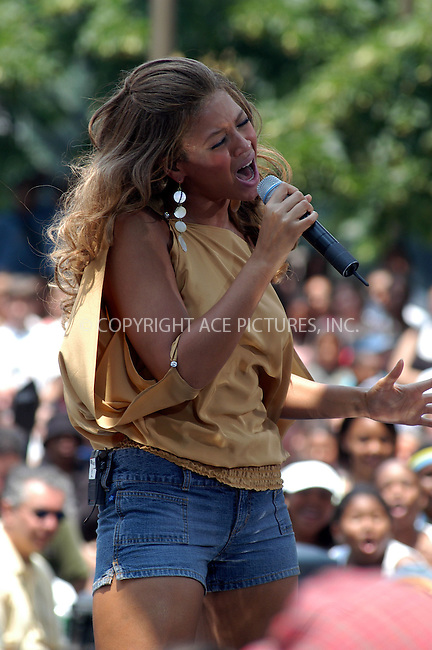 BEYONCE KNOWLES performs on 'The Early Show' during the 3rd annual Summer Concert Series. New York, June 27, 2003. Please byline: NY Photo Press.   ..*PAY-PER-USE*      ....NY Photo Press:  ..phone (646) 267-6913;   ..e-mail: info@nyphotopress.com