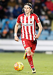 Atletico de Madrid's Filipe Luis during La Liga match. February 14,2016. (ALTERPHOTOS/Acero)