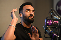 HOLLYWOOD, FL - JANUARY 11: Craig David visits radio station Hits 97.3 Live on January 11, 2018 in Hollywood, Florida. <br /> CAP/MPI04<br /> &copy;MPI04/Capital Pictures