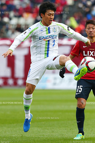 Wataru Endo (Bellmare),<br /> MARCH 14, 2015 - Football / Soccer : <br /> 2015 J1 League 1st stage match between<br /> Kashima Antlers 1-2 Shonan Bellmare<br /> at Kashima Soccer Stadium in Ibaraki, Japan.<br /> (Photo by Shingo Ito/AFLO SPORT)