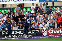 A six lands in the crowd during Essex Eagles vs Surrey, NatWest T20 Blast Cricket at The Cloudfm County Ground on 7th July 2017
