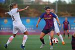 FC Barcelona vs Montpellier HSC: 1-2.<br /> Sandie Toletti vs Mariona Caldentey.