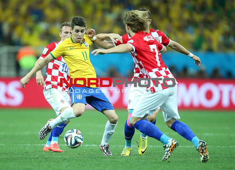 2014 Fifa World Cup opening game from group A against Brazil and Croatia.<br /> Oscar<br /> <br /> Foto &copy;  nph / PIXSELL / Sajin Strukic