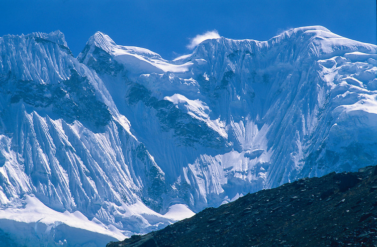 Nevado Salkantay (6271 m), Salkantay trek, Peru, 2016.