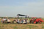 Israel, Shavuot celebration in Jezreel Valley