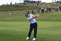 Paul Dunne (IRL) on the 1st fairway during Round 4 of the Open de Espana 2018 at Centro Nacional de Golf on Sunday 15th April 2018.<br /> Picture:  Thos Caffrey / www.golffile.ie<br /> <br /> All photo usage must carry mandatory copyright credit (&copy; Golffile | Thos Caffrey)