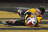 Rob Leamy, St. Anthony's goalie, makes a save during a CHSAA varsity boys soccer game against Chaminade at St. Anthony's High School in South Huntington on Thursday, Oct. 20, 2016.