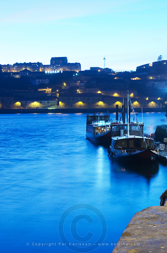 passenger ferry boats graham's port lodge vila nova de gaia porto portugal