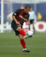 17 April 2004: MetroStars Craig Ziadie in action against DC United at Giants' Stadium in East Rutherford, New Jersey.  MetroStars defeated DC United, 3-2.