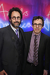 Tony Kushner and Mark Harris attends the Broadway Opening Night After Party for 'Angels in America'  at Espace on March 25, 2018 in New York City.