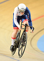 Picture by Alex Broadway/SWpix.com - 01/03/2018 - Cycling - 2018 UCI Track Cycling World Championships, Day 2 - Omnisport, Apeldoorn, Netherlands - Katy Marchant of Great Britain competes in the Women's Sprint 1/16 Finals.