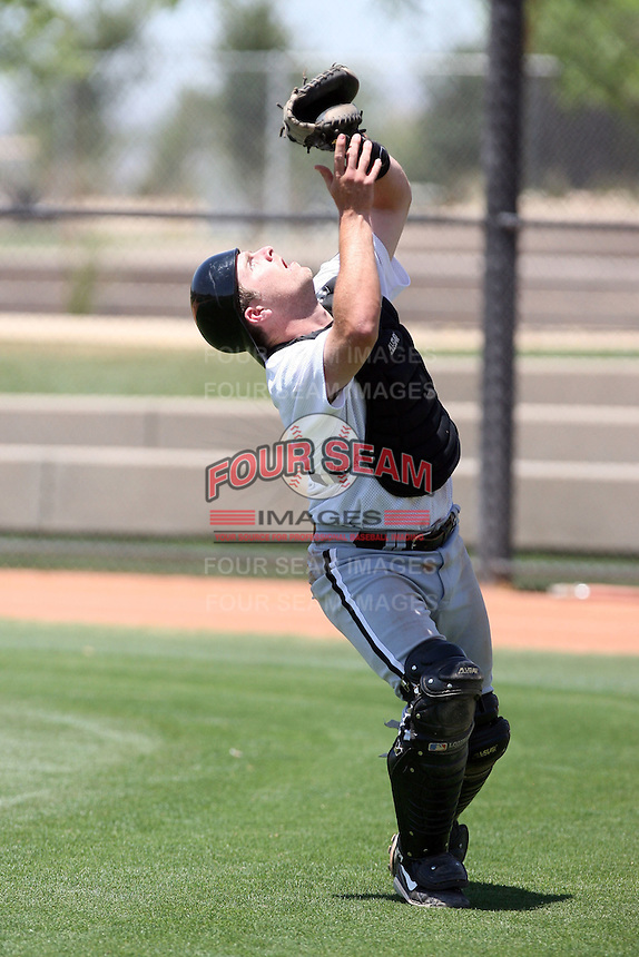 Jeff Hulett, Chicago White Sox 2010 extended spring training..Photo by:  Bill Mitchell/Four Seam Images.