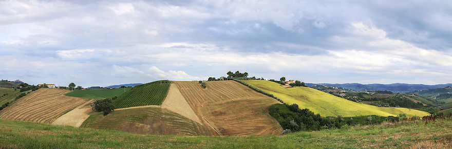Series of panoramic pictures of landscape and scenery from Europe, South Africa and Canada.