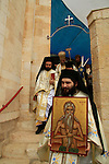 Israel, Jerusalem, St. Onuphrius celebration at at the Greek Orthodox St. Onuphrius Monastery