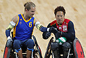Shinichi Shimakawa (JPN),<br /> SEPTEMBER 14, 2016 - WheelChair Rugby : <br /> Preliminary Round Group A<br /> match Japan - Sweden<br /> at Carioca Arena 1 during the Rio 2016 Paralympic Games in Rio de Janeiro, Brazil.<br /> (Photo by Shingo Ito/AFLO)