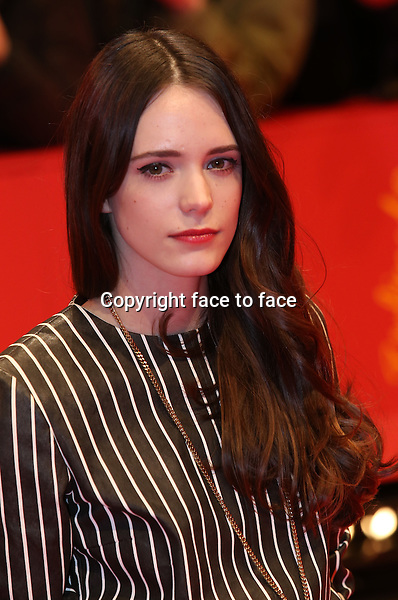 Berlinale 2014 - Premiere Nymphomaniac - Stacy Martin - 09.02.2014, Berlin<br /> Credit: BB/face to face