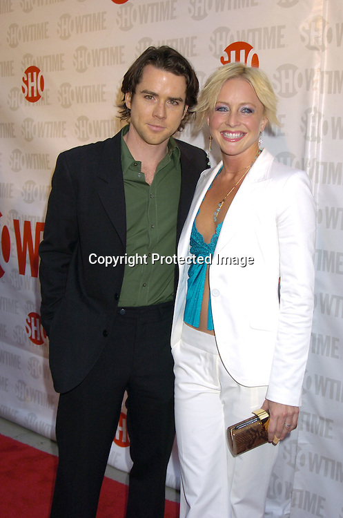 "Christian Campbell and Nikki Snelson..at the New York Premiere of Showtimes ""Reefer Madness"" ..on April 10, 2005 at the Directors Guild of America Theatre...Broadway Cares/Equity Fights Aids was benefitting from the Premiere. ..Photo by Robin Platzer, Twin Images"