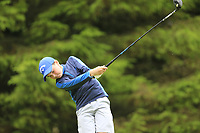 Ronan O'Keeffe (Monkstown) during the Connacht U14 Boys Amateur Open, Ballinasloe Golf Club, Ballinasloe, Galway,  Ireland. 10/07/2019<br /> Picture: Golffile | Fran Caffrey<br /> <br /> <br /> All photo usage must carry mandatory copyright credit (© Golffile | Fran Caffrey)