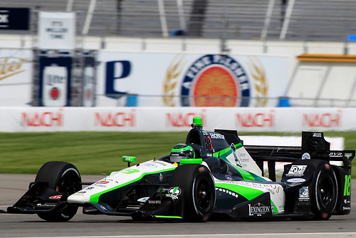 12-14 May, 2016, Indianapolis, Indiana, USA<br /> Conor Daly<br /> ©2016, Phillip Abbott<br /> LAT Photo USA