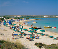 ZYPERN, Sued-Zypern, bei Ayia Napa: Golden Sands Beach | CYPRUS, South-Cyprus, near Ayia Napa: Golden Sands Beach
