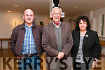 Tim Severin Lecture: Pictured with Tim Severin,centre,  at his lecture on the Brendan Voyage at the Seanchai Centre, Listowel  on Thursday last were Ger O'Connell & Mary O'Connor.
