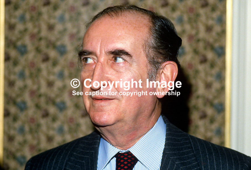 His Excellency, Luc de la Barre de Nanteuil, French ambassador to UK, was a visitor at the annual conference of the UK Conservative Party. 19871041LDN..Copyright Image from Victor Patterson, 54 Dorchester Park, Belfast, UK, BT9 6RJ..Tel: +44 28 9066 1296.Mob: +44 7802 353836.Voicemail +44 20 8816 7153.Skype: victorpattersonbelfast.Email: victorpatterson@me.com.Email: victorpatterson@ireland.com (back-up)..IMPORTANT: If you wish to use this image or any other of my images please go to www.victorpatterson.com and click on the Terms & Conditions. Then contact me by email or phone with the reference number(s) of the image(s) concerned.