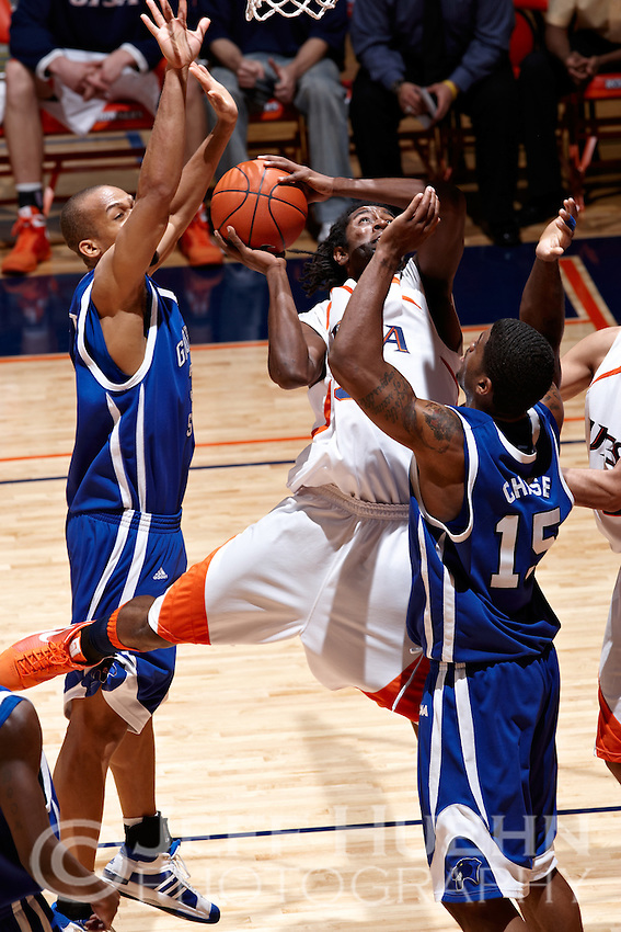 SAN ANTONIO, TX - DECEMBER 27, 2008: The Georgia State University Panthers vs. The University of Texas at San Antonio Roadrunners Men's Basketball at the UTSA Convocation Center. (Photo by Jeff Huehn)