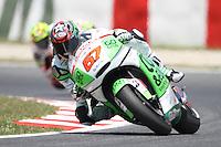 14.06.2013 Barcelona, Spain. Gran Premi Aperol de Catalunya. Free practice 2. Picture show Bryan Staring ridding FTR Honda at Circuit de Catalunya