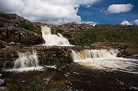 Diamantina_MG, Brasil...Cachoeira dos Cristais em Biribiri...The Cristais Waterfall in Biribiri...Foto: LEO DRUMOND / NITRO