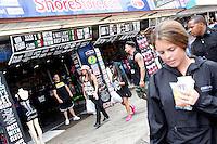 Sammi, Pauly D and Snooki pictured leaving the Shore Store during filming of The Jersey Shore Show season six in Seaside Heights, New Jersey on June 25, 2012  © Star Shooter / MediaPunchInc *NORTEPHOTO* **SOLO*VENTA*EN*MEXICO** **CREDITO*OBLIGATORIO** **No*Venta*A*Terceros** **No*Sale*So*third** *** No*Se*Permite Hacer Archivo** **No*Sale*So*third** *Para*más*información:*email*NortePhoto@gmail.com*web*NortePhoto.com*